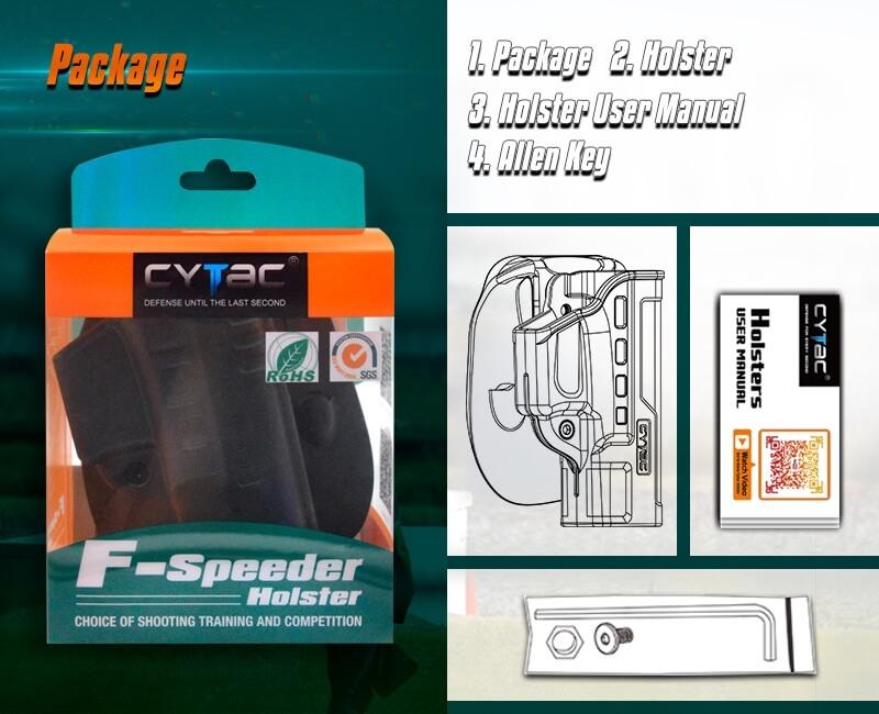 F-Speeder Holster Package