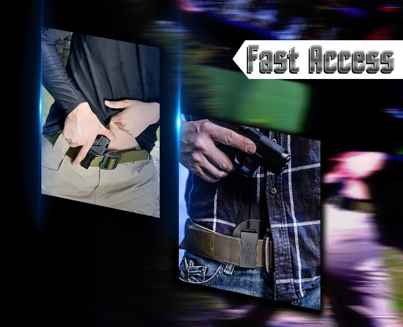 Fast Access IWB Holster