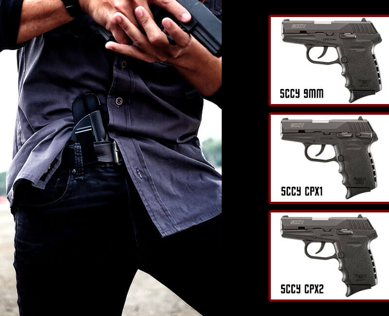SCCY 9mm / CPX1 / CPX2 IWB Holster