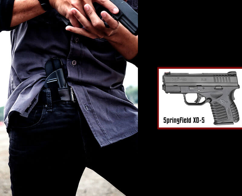 Springfield Amory XD-S IWB Holster