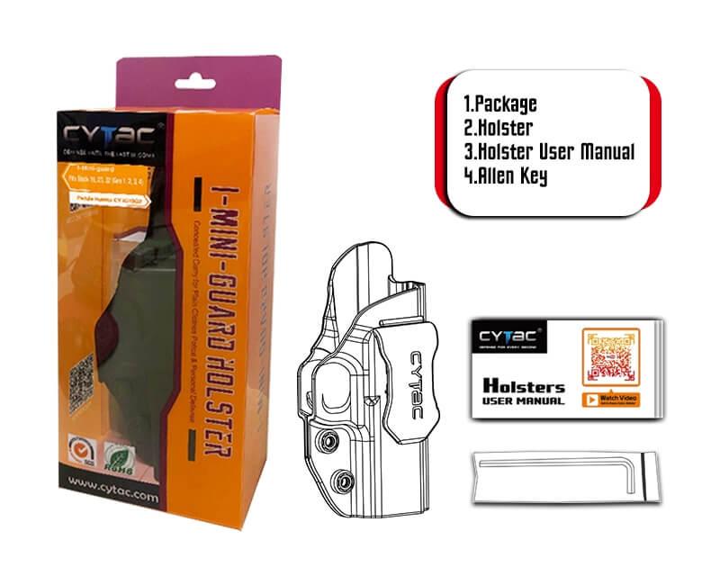Cytac IWB Holster Package