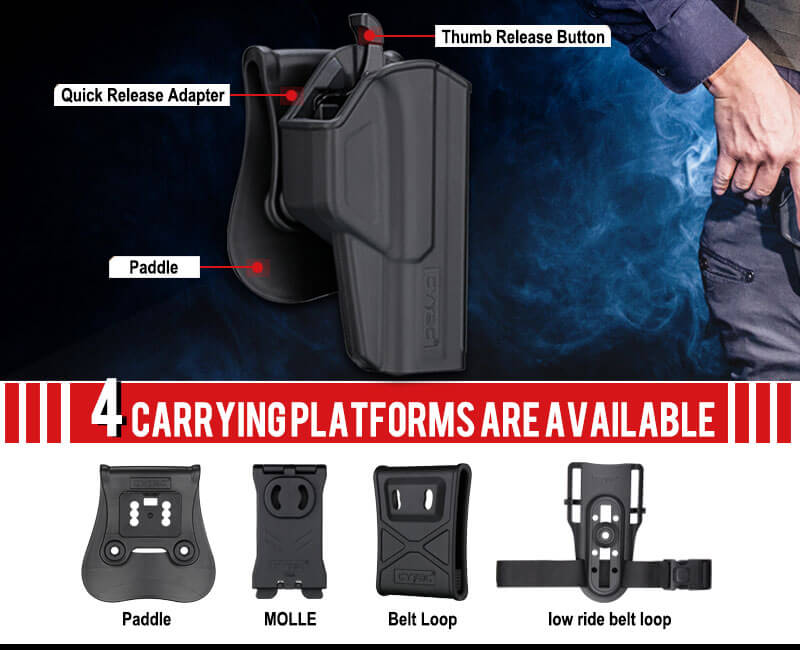 Holster Carrying Attachment