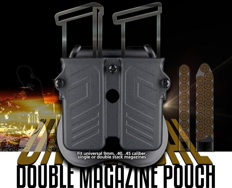 Universal Double Magazine Universal Fit