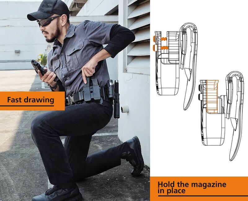 Universal Double Magazine Fast Drawing