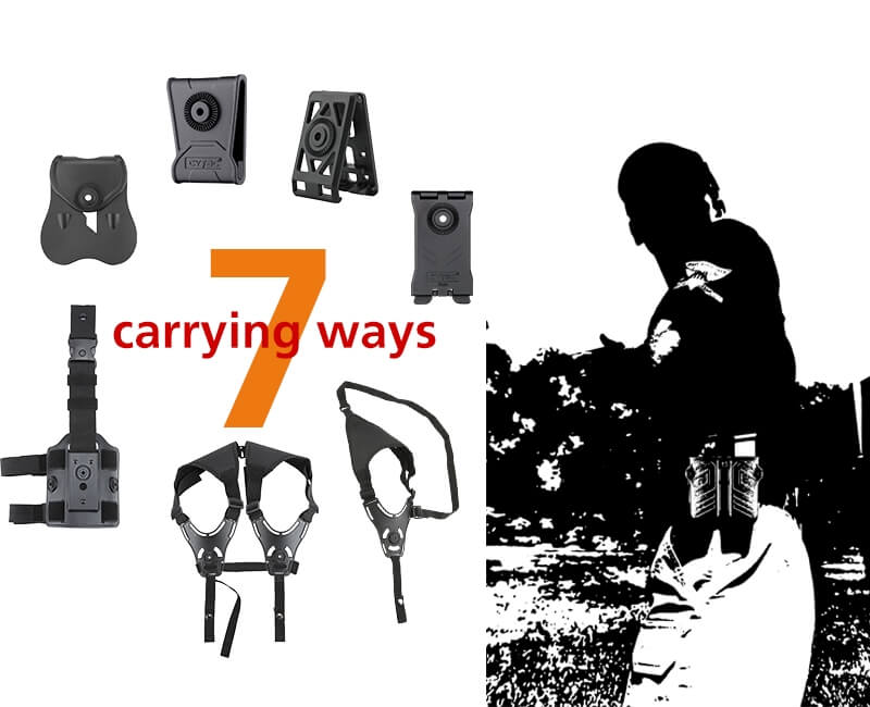 Universal Double Magazine 7 Carring Ways